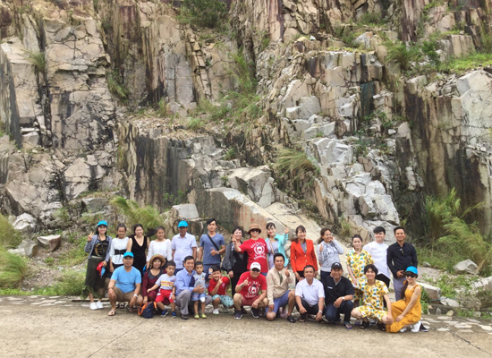Công ty CP Lâm Nghiệp Và Xây Dựng Việt - Úc du lịch Nam Du năm 2019.