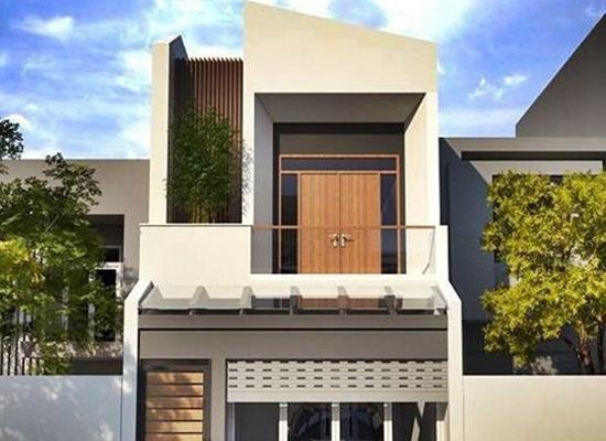 10 mẫu nhà 2 tầng mái bằng đẹp nhất 2019