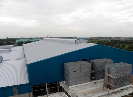 Tìm hiểu kết cấu nhà thép công nghiệp