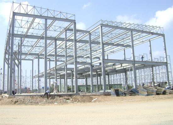 Quy trình xây dựng phần khung nhà thép tiền chế