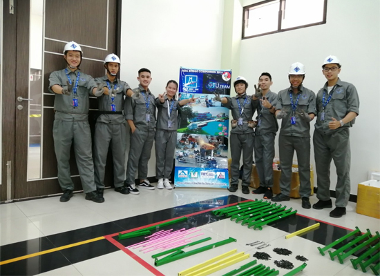 Nhà thép Việt -Úc tài trợ và đồng hành cùng đoàn sinh viên Đại học Cần Thơ tham gia cuộc thi thiết kế cấu thép Châu Á 2019.