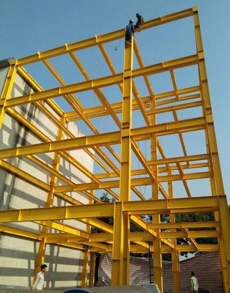 Pre-engineered steel buildings (+84) 2923 880 933 , Khung thep tien che, Thep Viet - Uc
